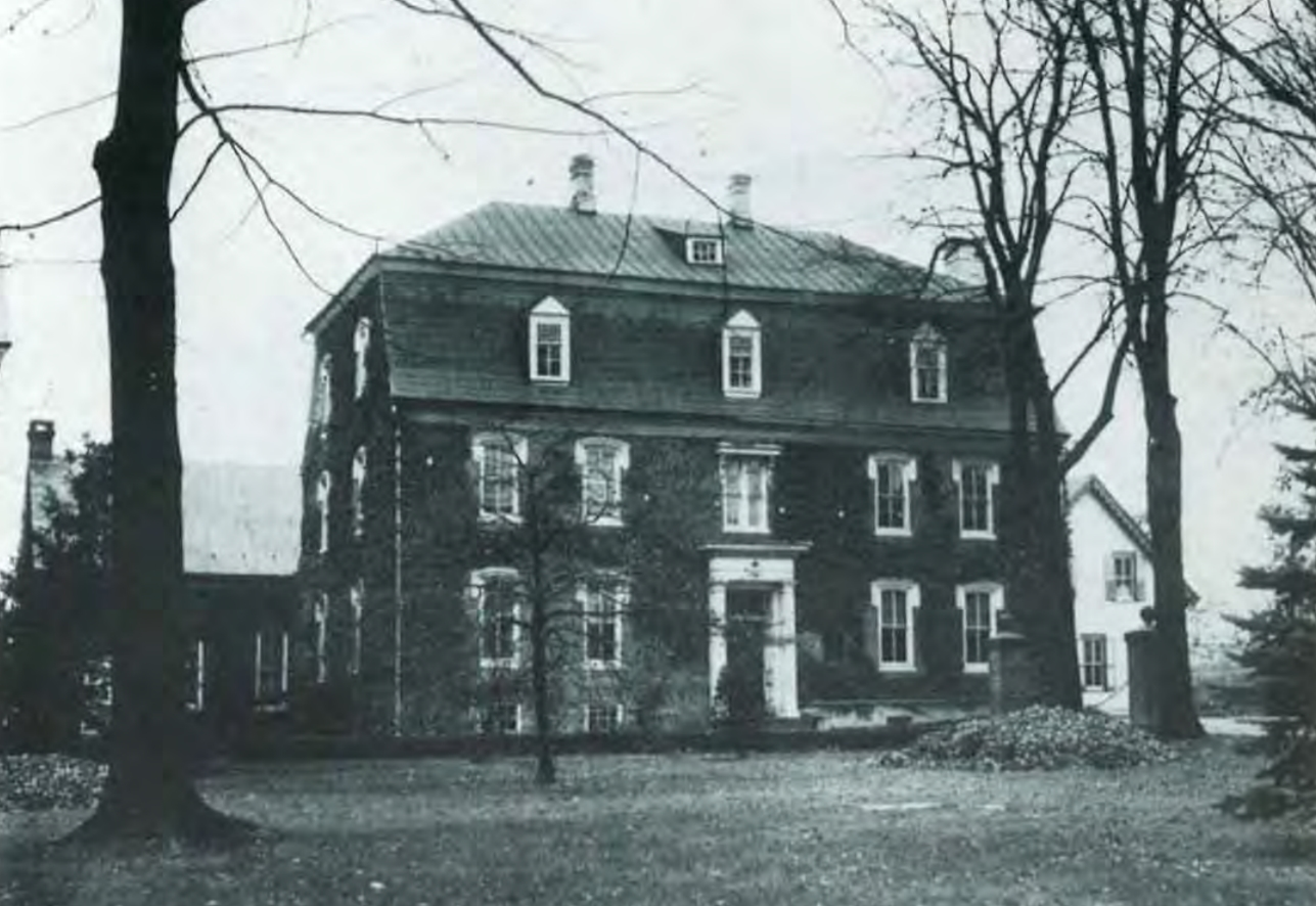 Brethren's House at Lititz, site of Revolutionary makeshift hospital and where the Lititz Pharmacopoeia was written.