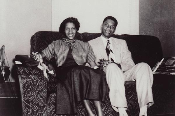 Medgar and Myrlie Evers were married in 1951.