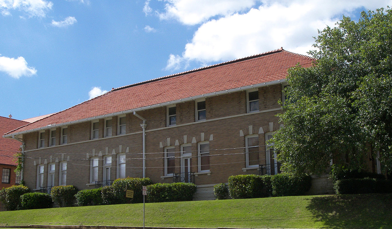 The Smith County Historical Society is housed in the former Carnegie Library building, which was built in 1904 and later expanded in 1936.