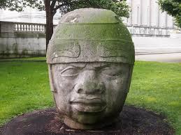 The Olmec Head #8 by  Ignacio Perez Solano