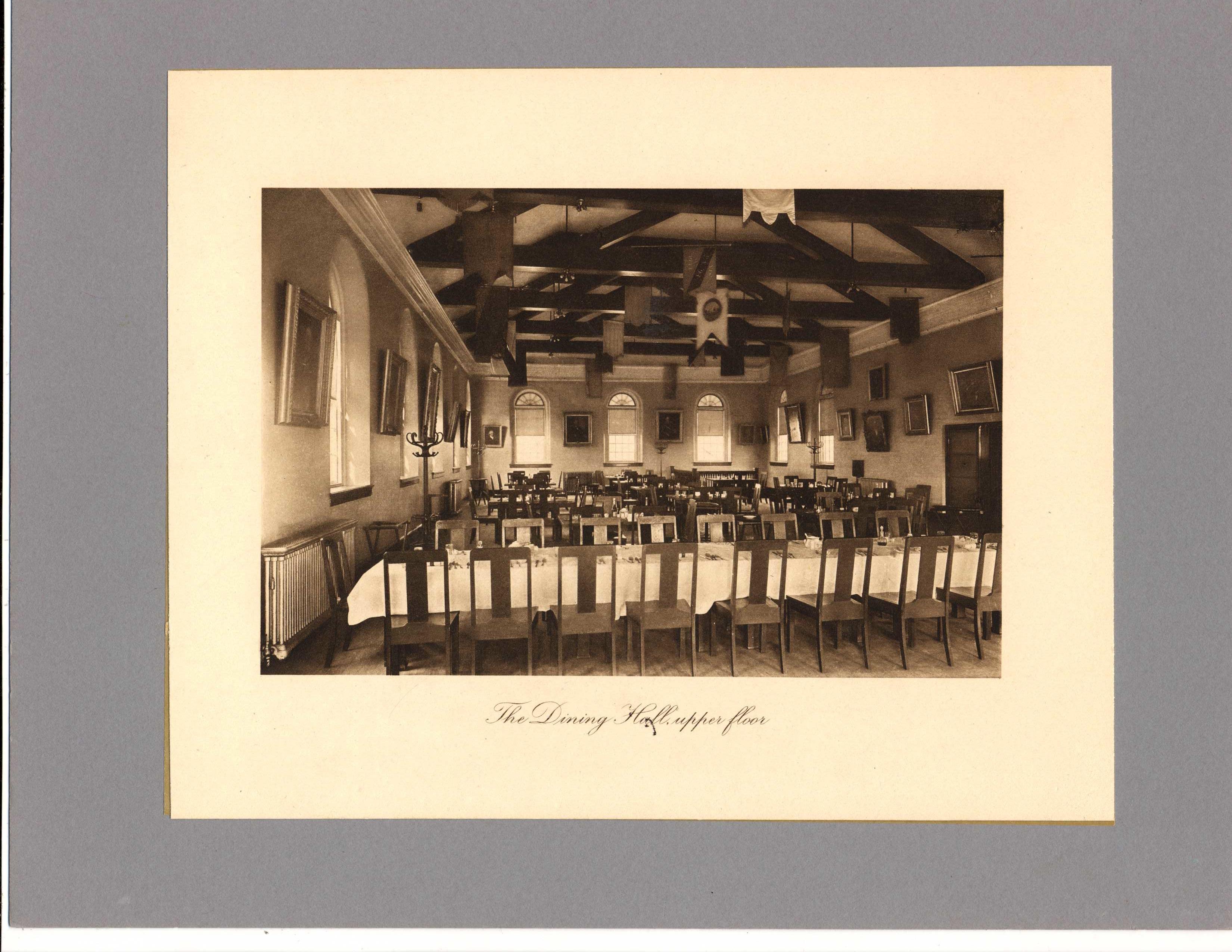 Bulfinch Hall, dining room, second floor