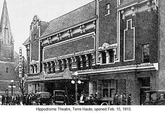 The Hippodrome Theater Feb. 15, 1915