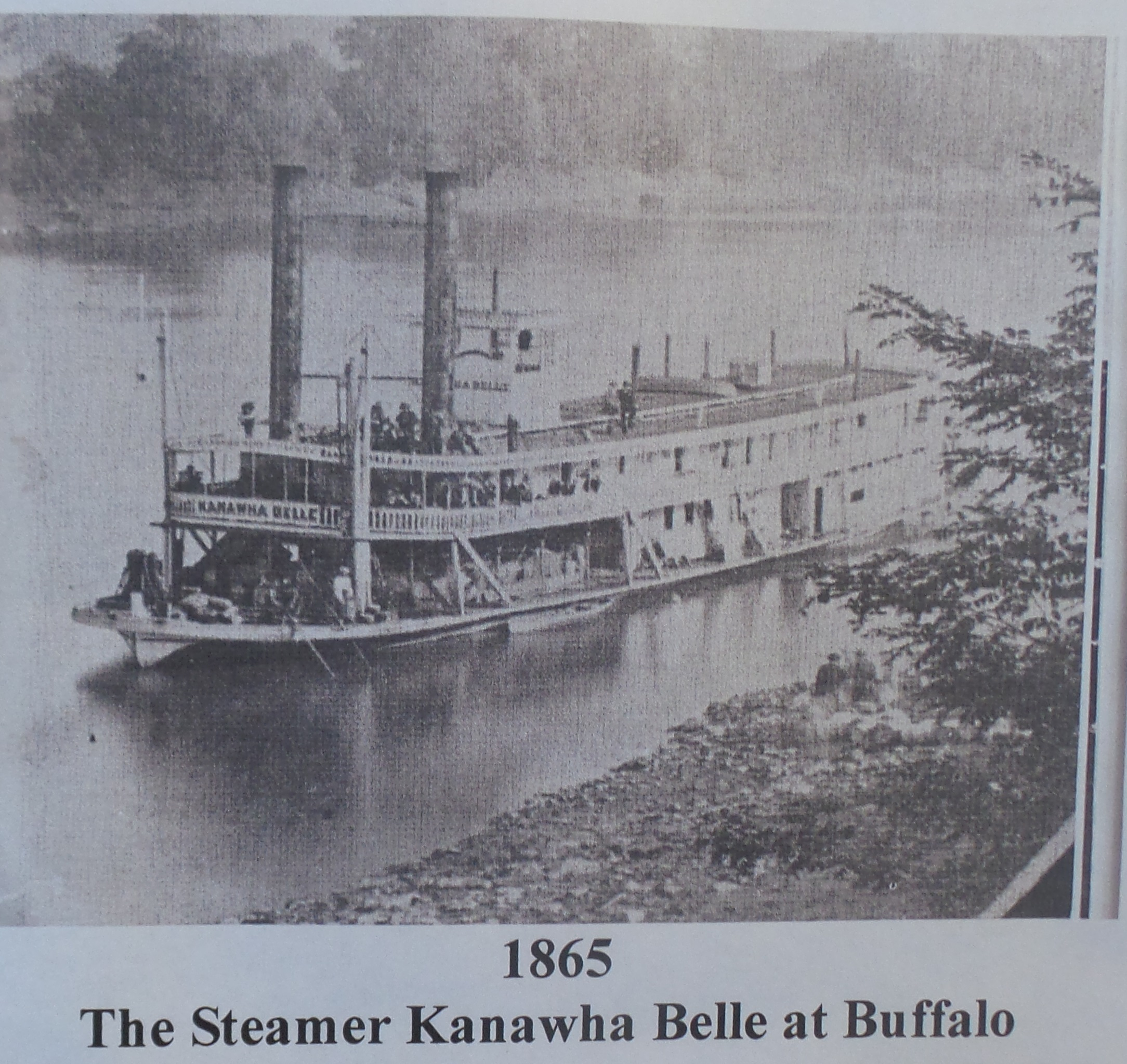 Steam boat Kanawha Belle