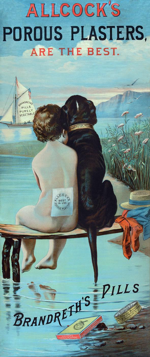 Poster for Allcock's Porous Plasters