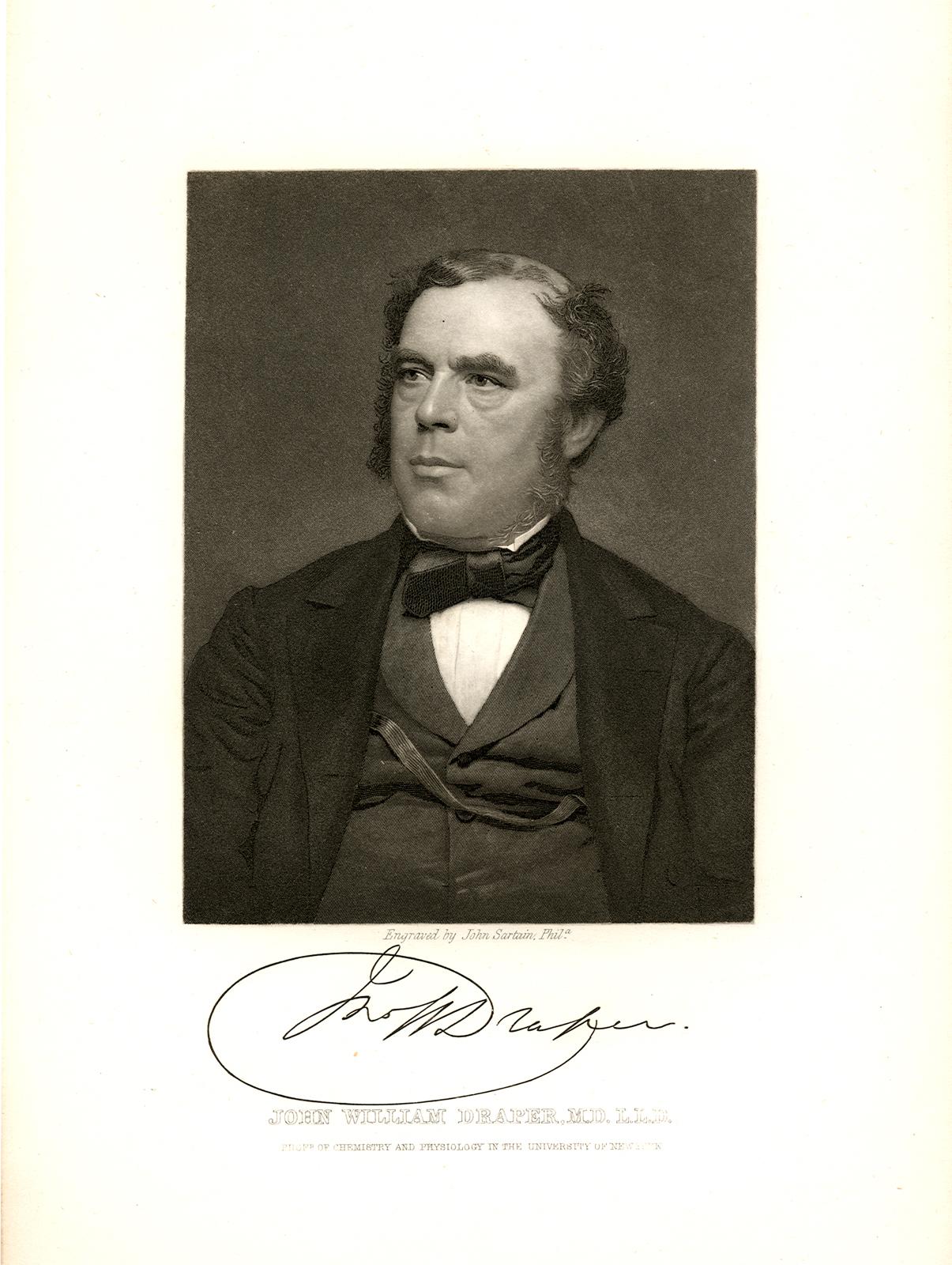 Engraving of John William Draper