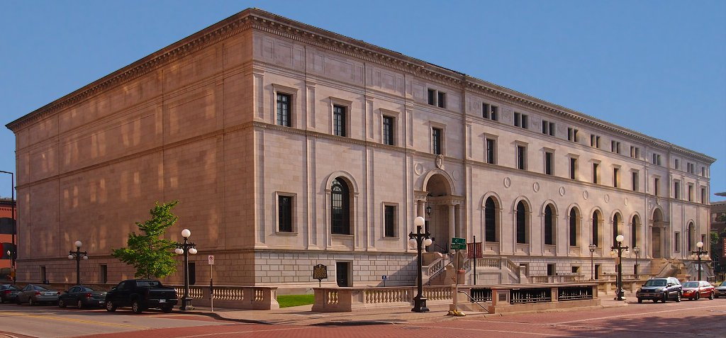 The St. Paul Public Library's main building was added to the National Register of Historic Places in 1975.