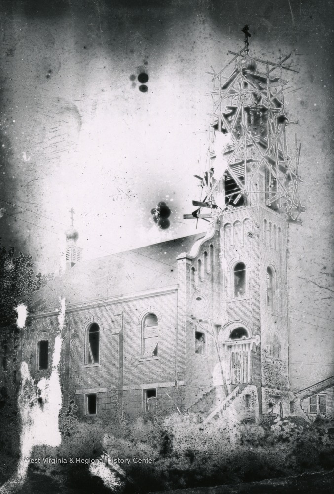 St. Mary's Orthodox Church under construction