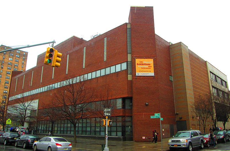 Exterior view of the Schomburg Center