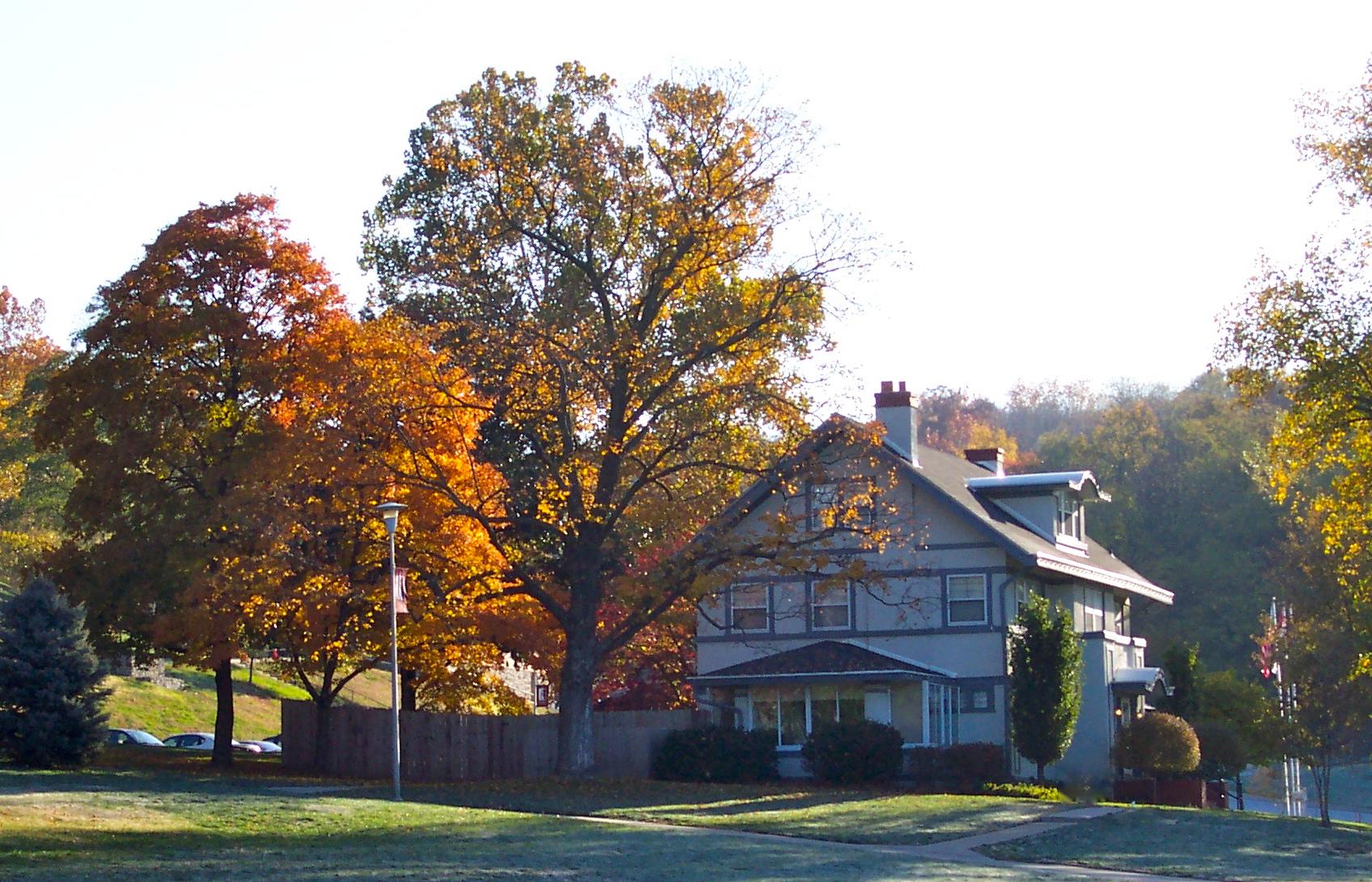 Park University White House Southwest side