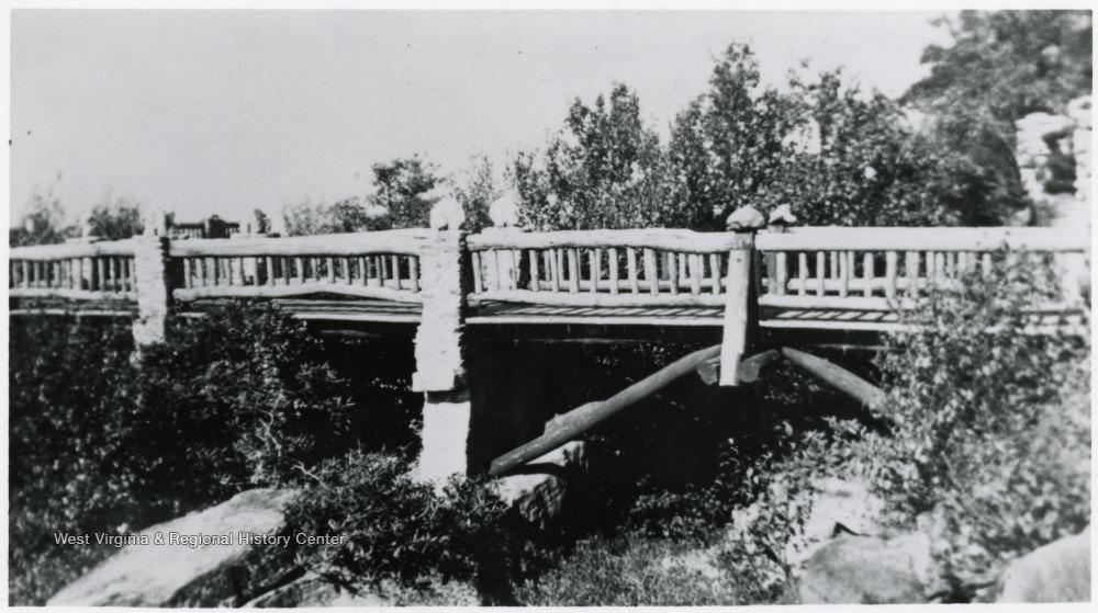 Original overlook bridge