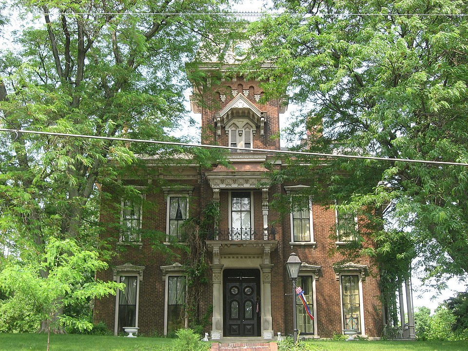 2011 photo of Cyrus Ball House by nyttend