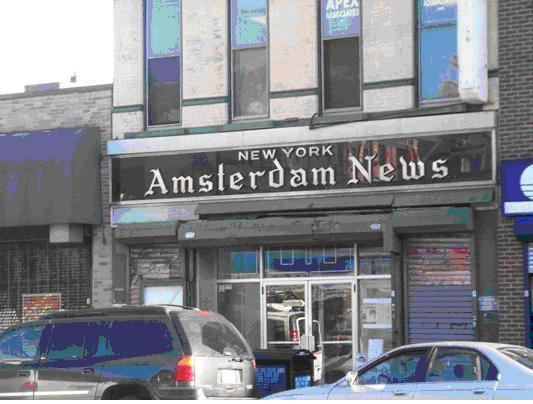 The New York Amsterdam News building.