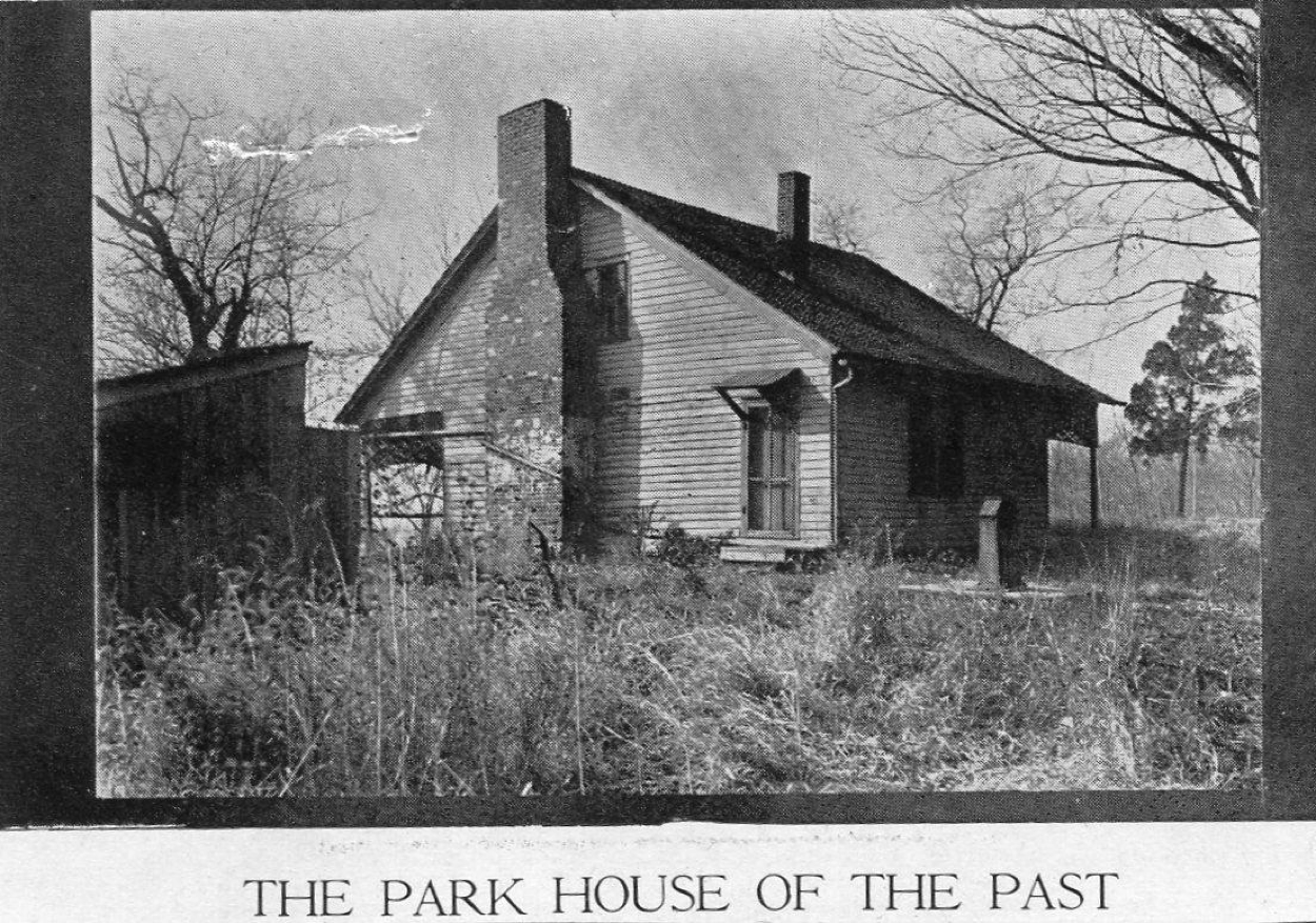 The Park House of the past, before renovations.
