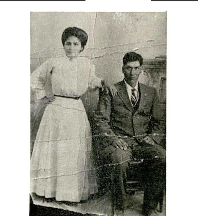 Longina and Margarito Benavides: The Matriarchs of Chope's (circa 1918)