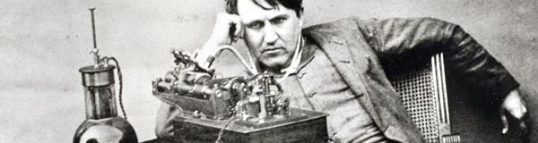 Edison with invention