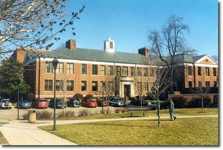 Jenkins Hall is currently the third oldest building on Marshall University's campus.