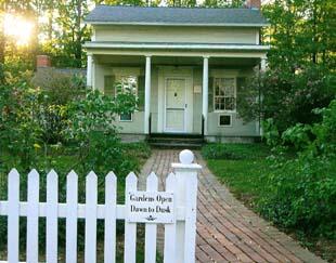 Millard Fillmore House (Garden Sign)