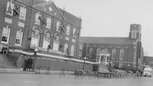 Memorial Building, circa 1950.