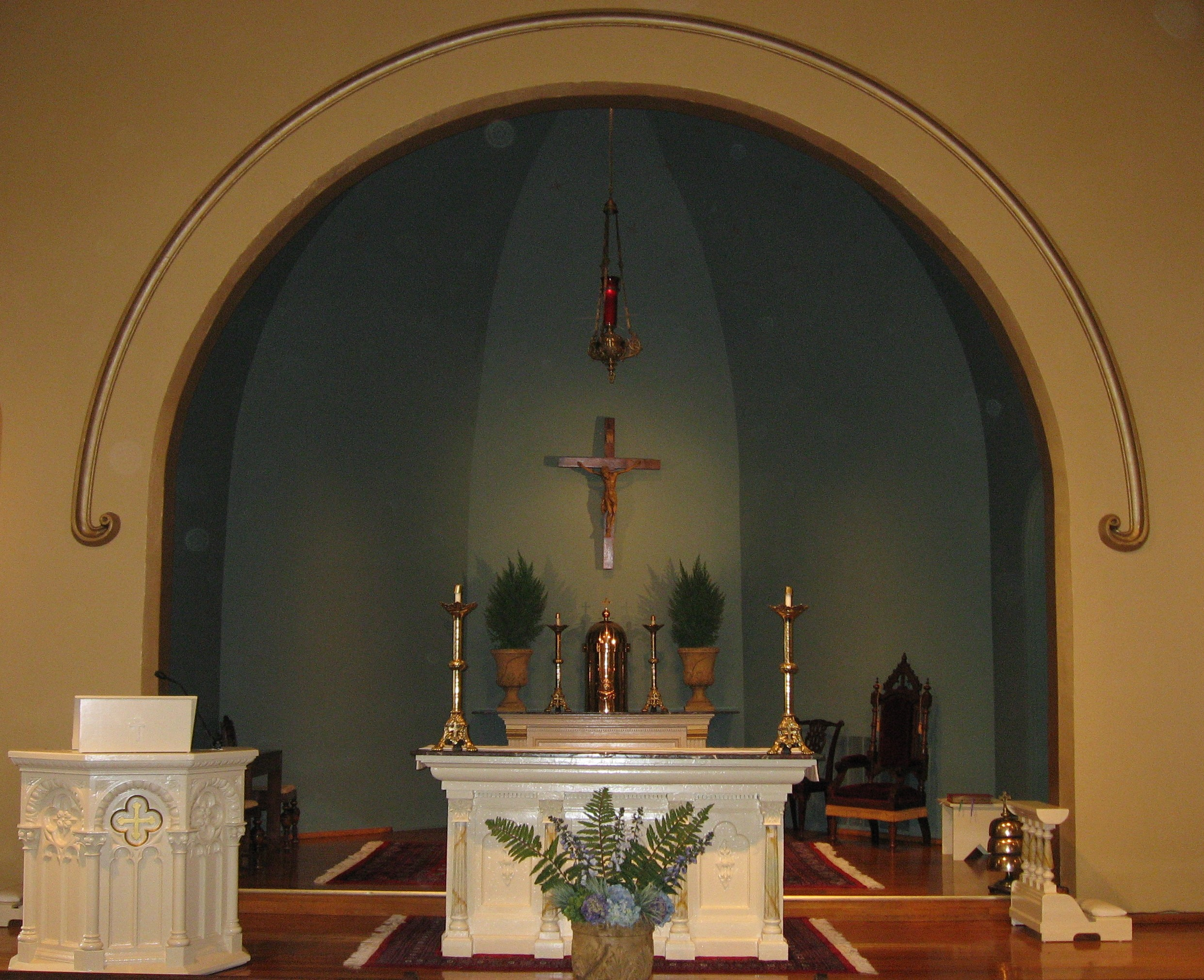 St. Patrick's altar (image from St. Patrick's Church)