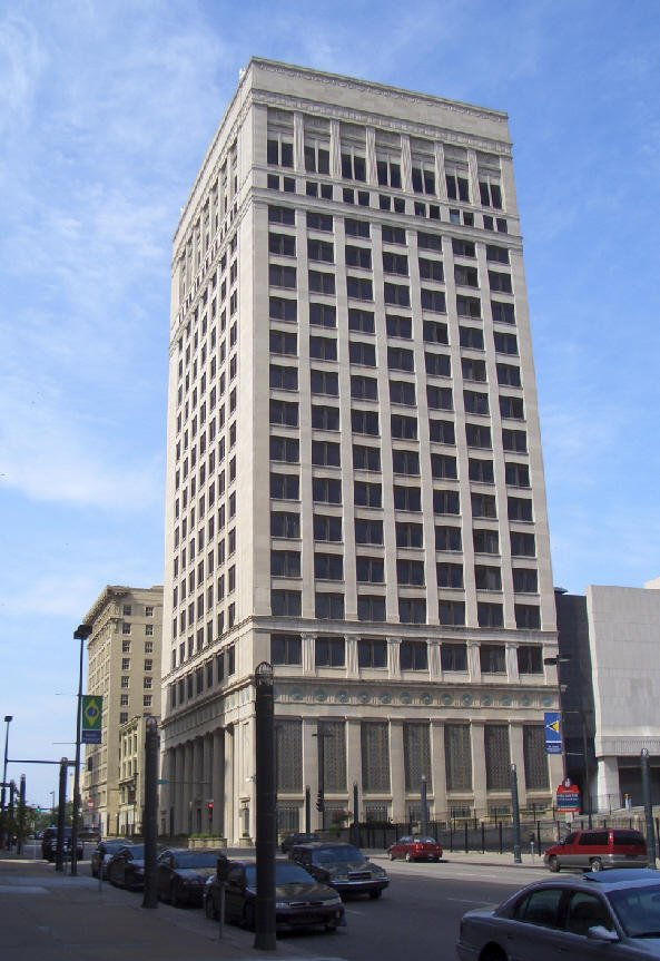 The Federal Reserve Building was constructed in 1921 and housed the Federal Reserve Bank of Kansas City for over eight decades. Image obtained from KCUR.