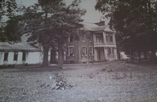 Valcoulon Mansion turned into Camp Tompkins
