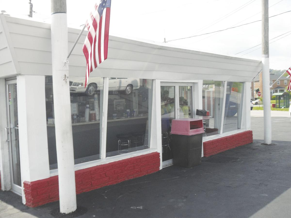 Exterior of the drive-in