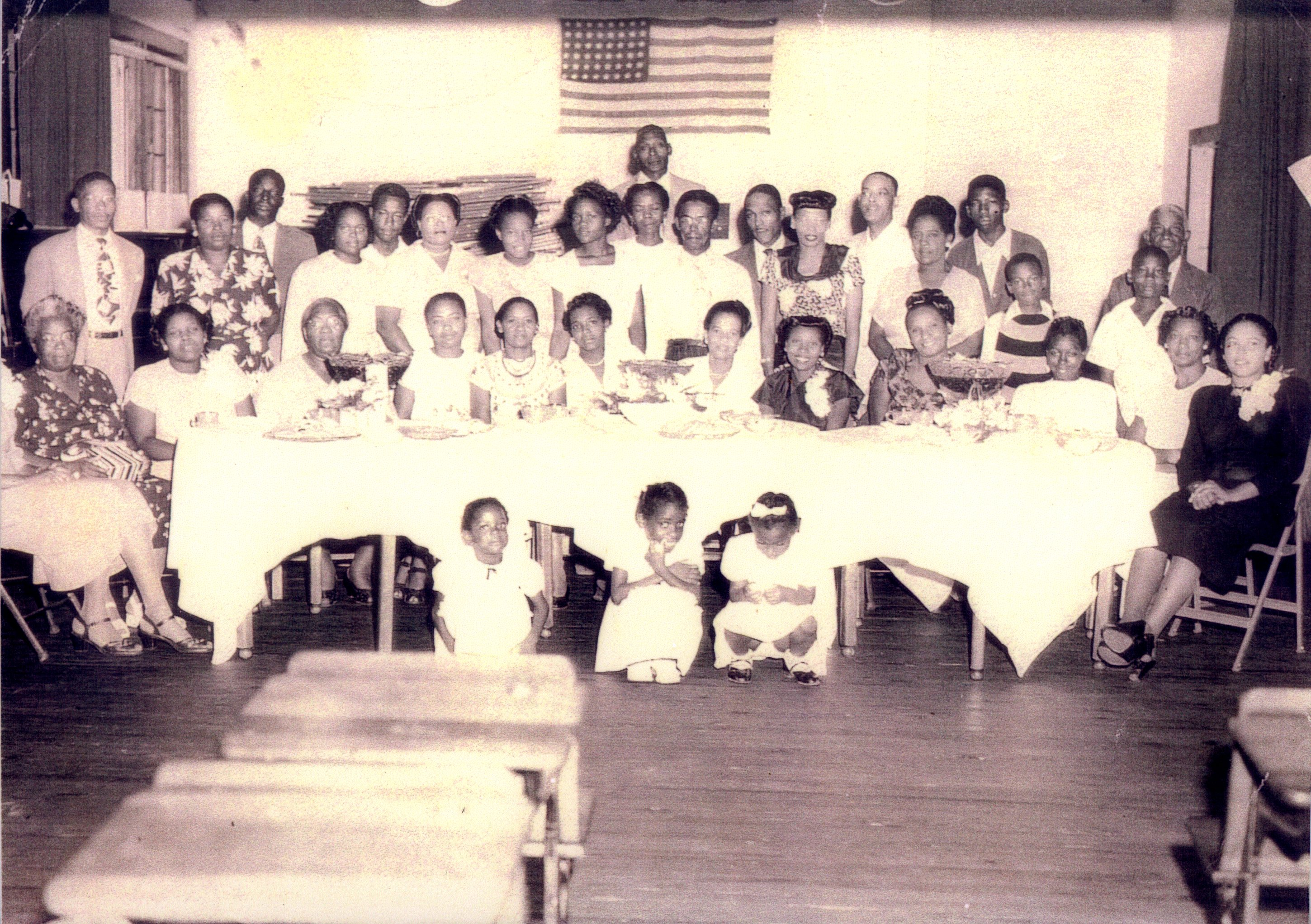 Union Academy PTA Appreciation Tea, Tarpon Springs, Florida, June 1948.