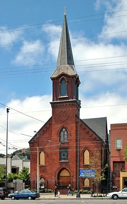 Saint Francis Lutheran Church was built in 1906.