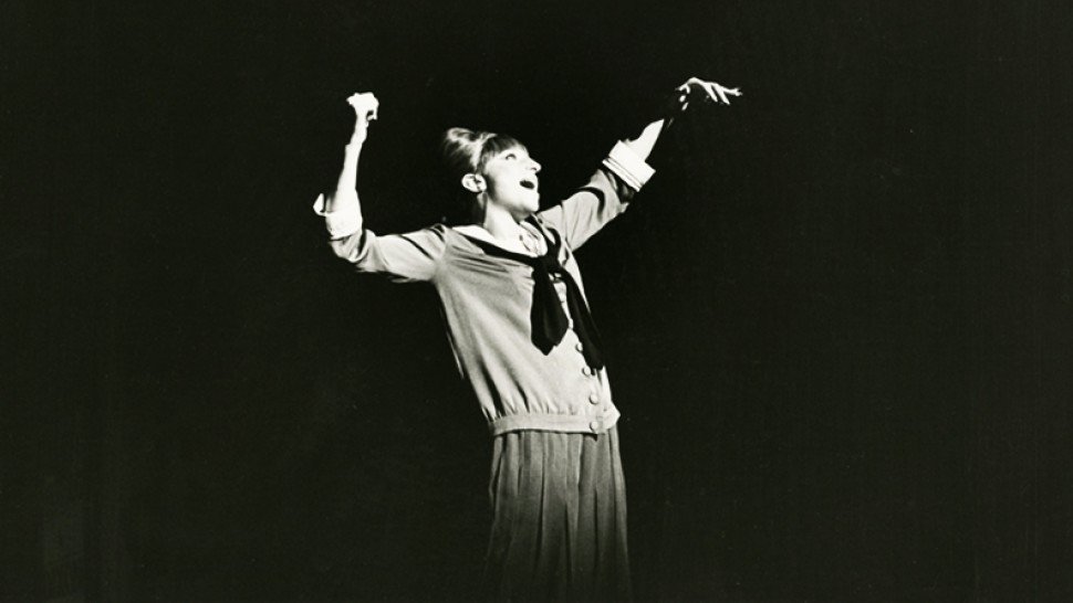 Barbra Streisand in the Broadway production of Funny Girl