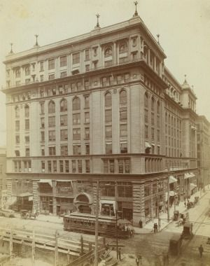 Early photo of the Century Building. Image obtained from Pinterest.