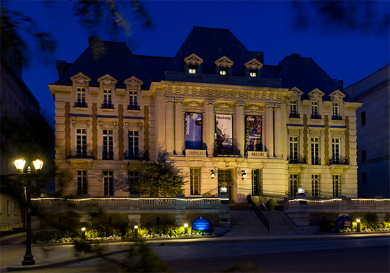 The Saint Louis University Museum of Art is located in the former St. Louis Club building, constructed in 1900.