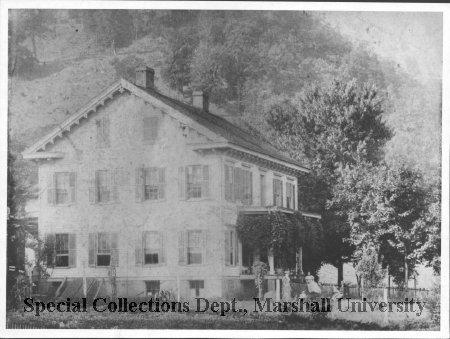 The Gwinn farmhouse in Glenwood, WV