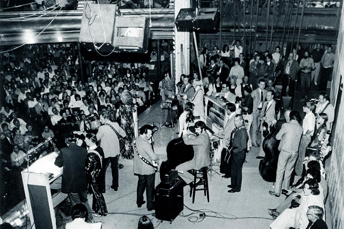 The Last Opry Show on the Ryman Stage, March 15, 1974