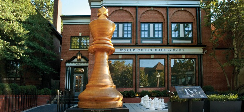 The World Chess Hall of Fame opened at this location in 2011.