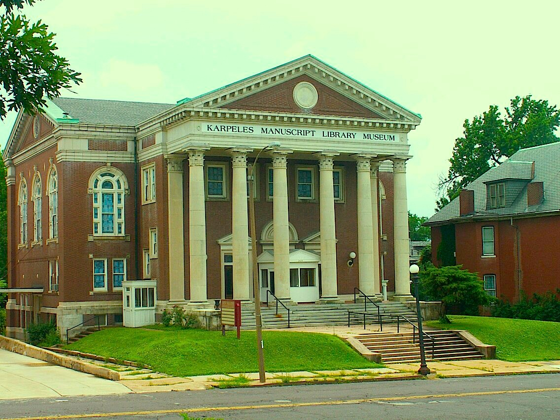 The Karpeles Manuscript Library Museum - St. Louis opened in 2015 in a former church built in 1911.