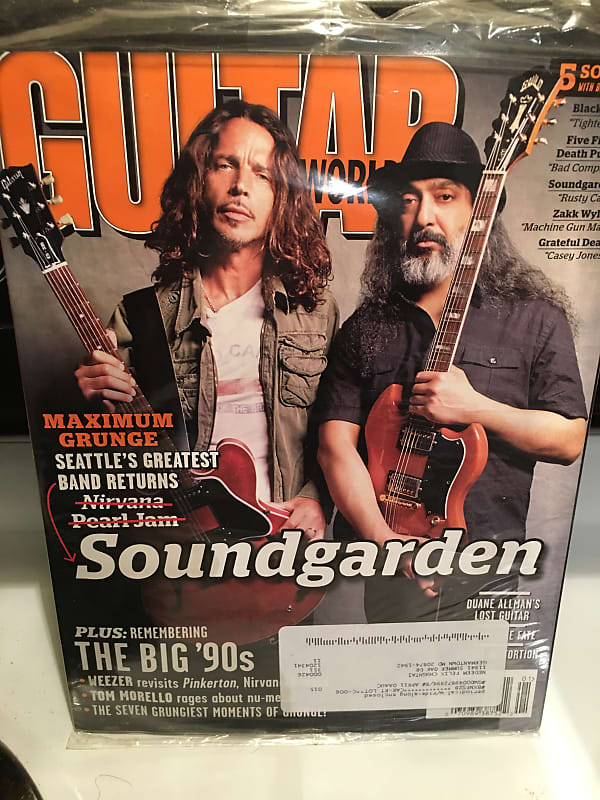Soundgarden announcing their reunion in 2011