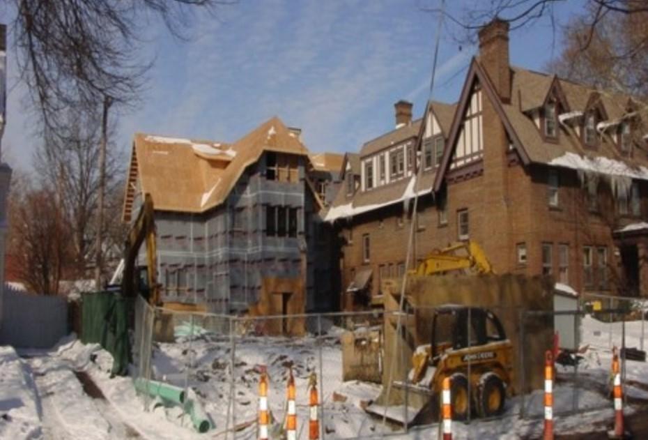 2007-2009 Renovation of 1913 Hall.