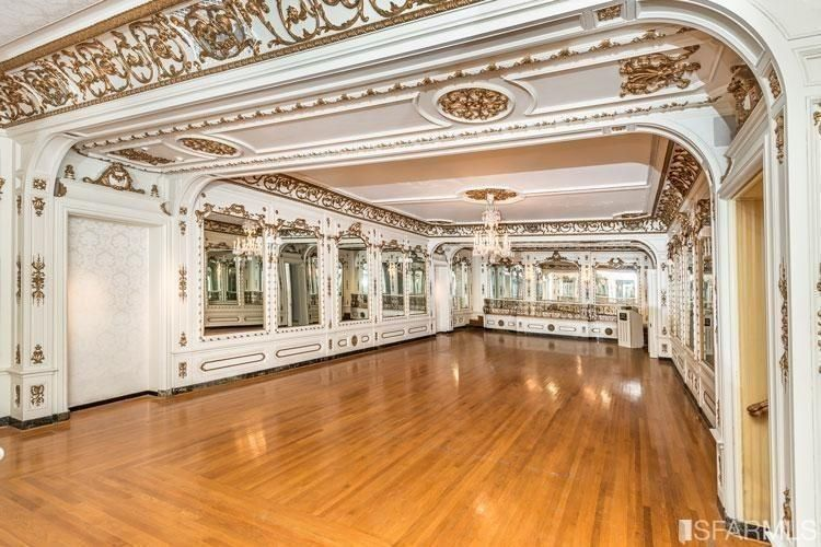 This ballroom was host to many events over the years.