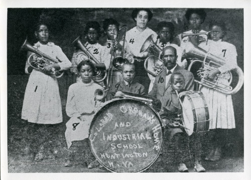 The Colored Orphan's Home and Industrial School Band