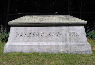 Cleaveland is interred in the nearby Pine Grove Cemetery.