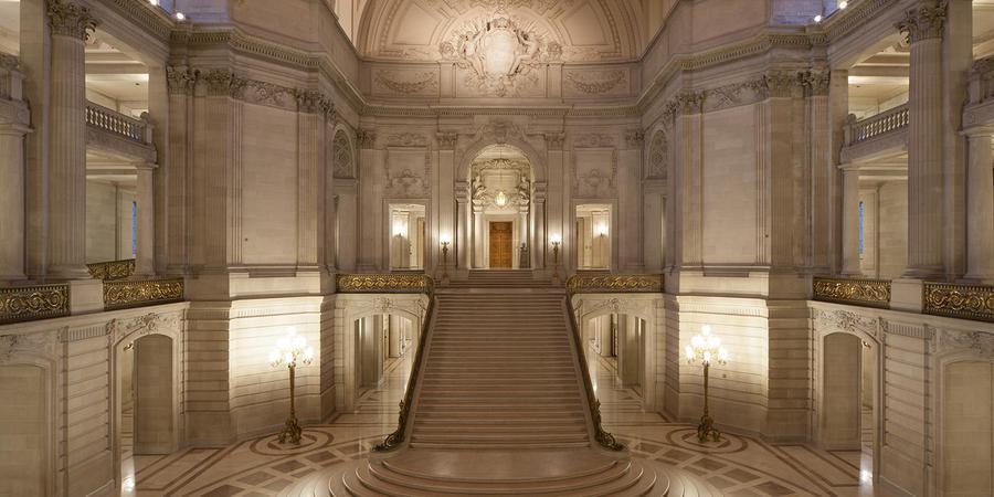 City Hall's lobby