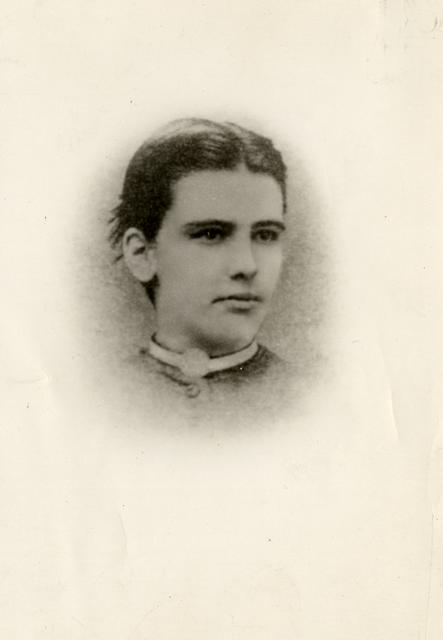Anna Howard Shaw during her time at Albion College in 1873 where she faced financial hardship due to her family's disapproval of her career choice.