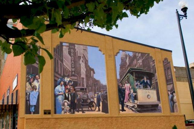 Transportation Mural