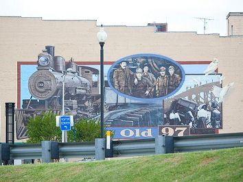 Historic Mural - Old 97