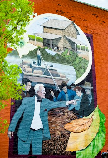 Historic Mural - Tobacco Heritage