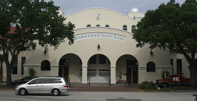 The Atlantic Coastline Station has been restored and operates as an Amtrak station today. Image obtained from cityoforlando.net.