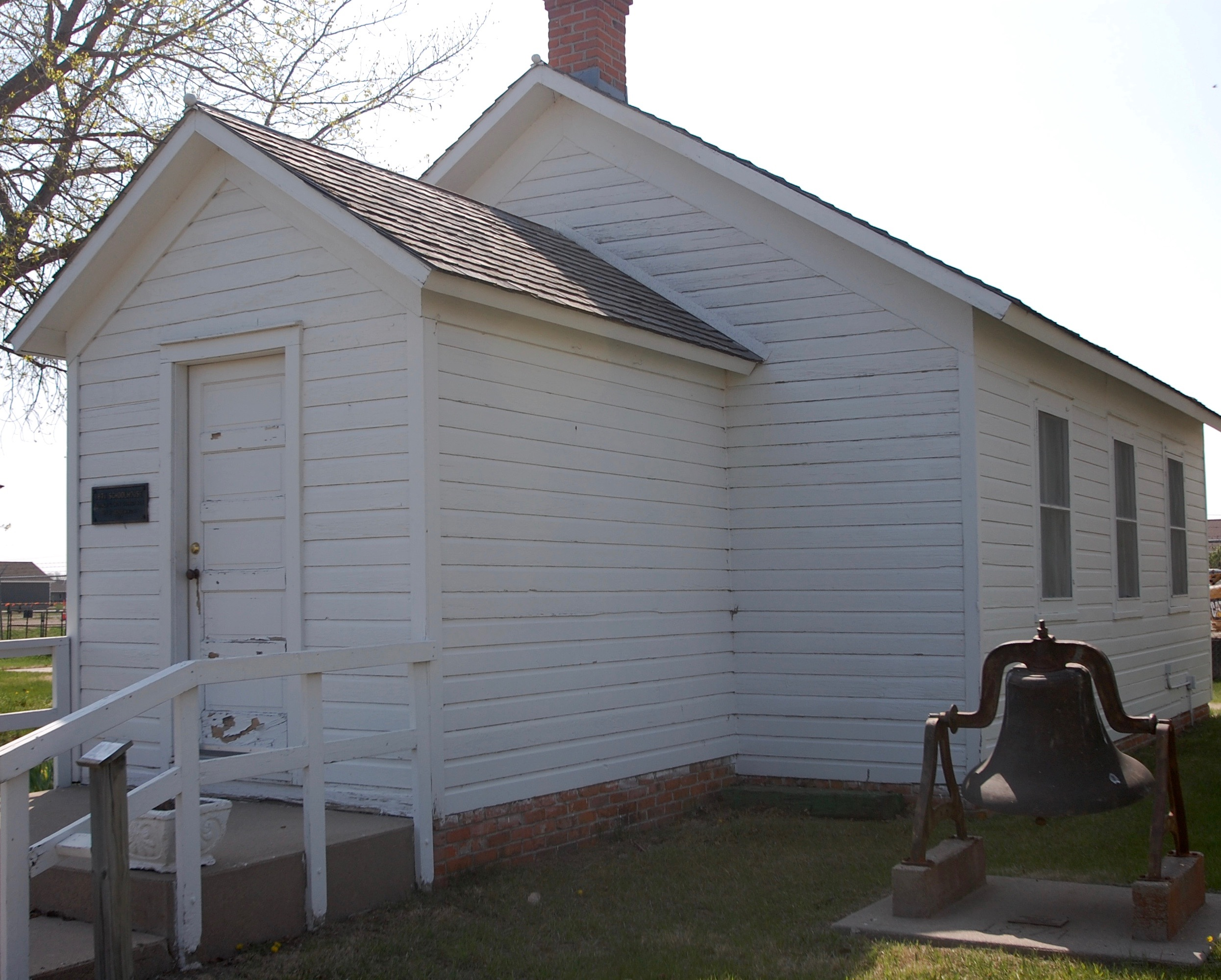 Front of the Schoolhouse