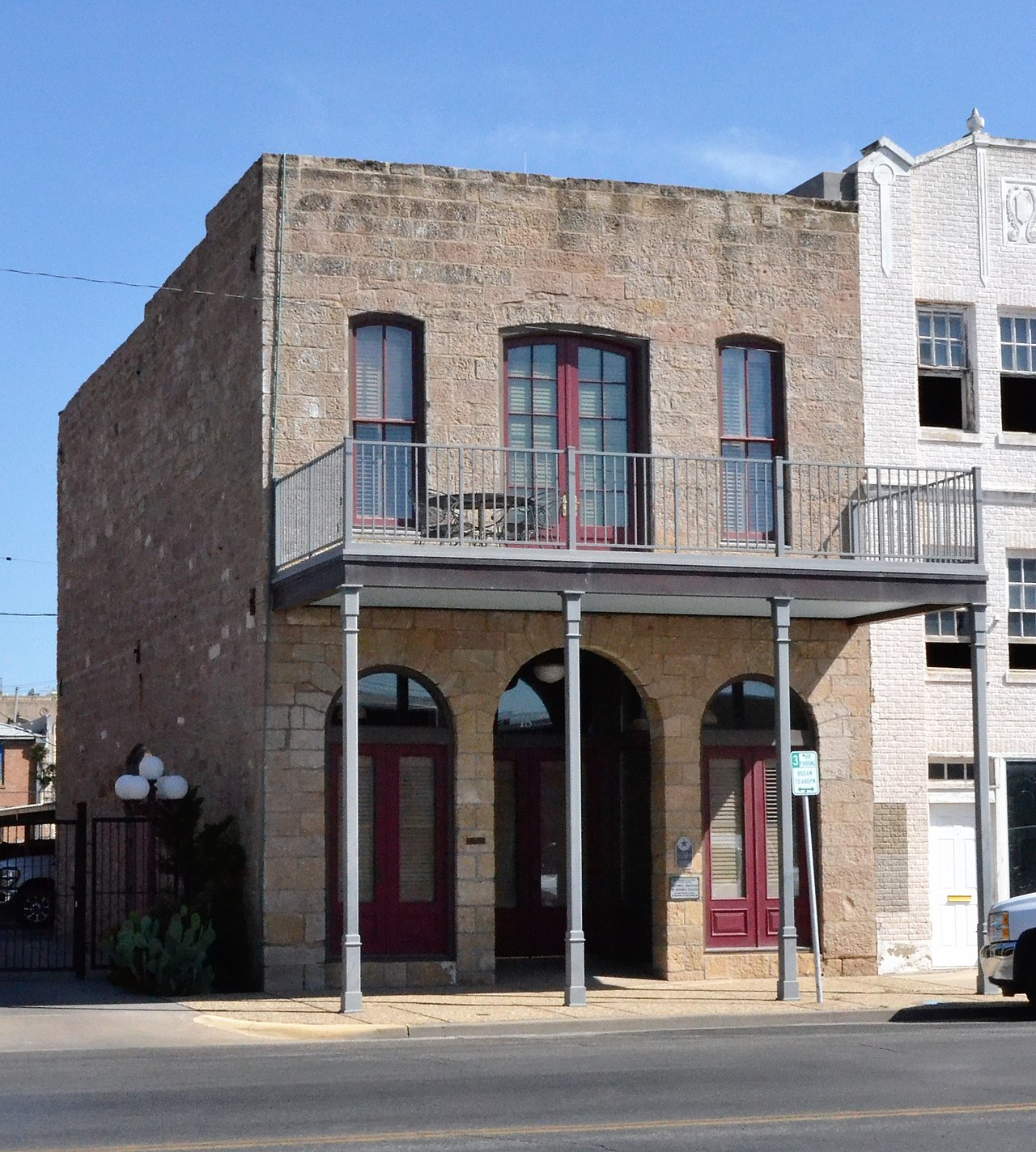 The Freeze Building was built in 1887 and is one of the oldest buildings in San Angelo.
