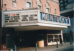 Side view of Kentucky Theater