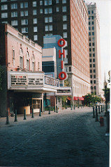 Photo of both the Kentucky and Ohio Theater that shows just how close the two theaters were. 